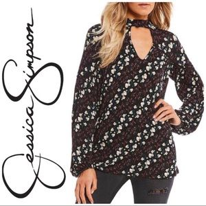Jessica Simpson Tanie top NWOT size small